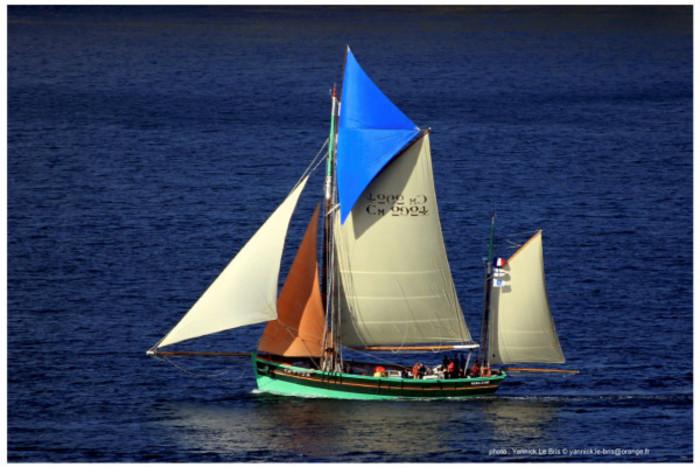 Escale du voilier La Nébuleuse
