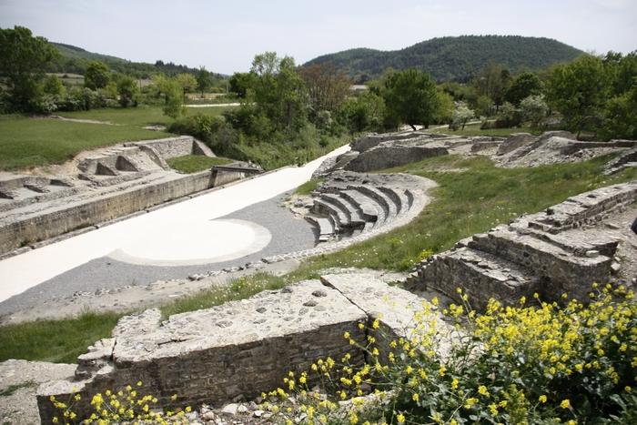 Journées du patrimoine 2019 - Restauration du théâtre antique d'Alba-la-Romaine