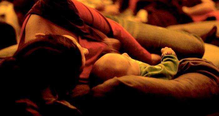 Chut les enfants se sont endormis