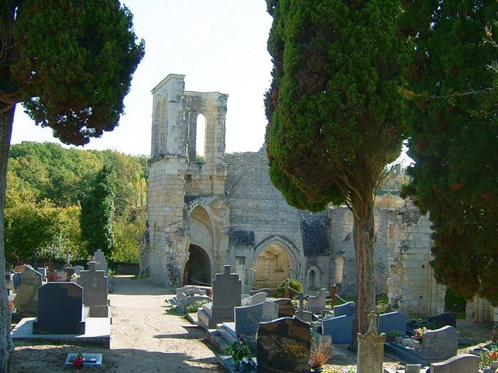 Journées du patrimoine 2019 - Cunault,les ruines de Saint-Maxenceul