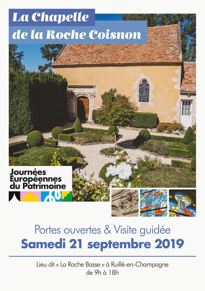 Journées du patrimoine 2019 - Visiste guidée de la Chapelle de la Roche Coisnon