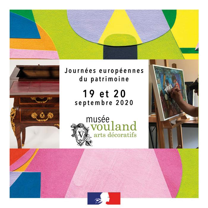 Journées du patrimoine 2020 - Métiers d'art et transmission des savoirs et savoir-faire