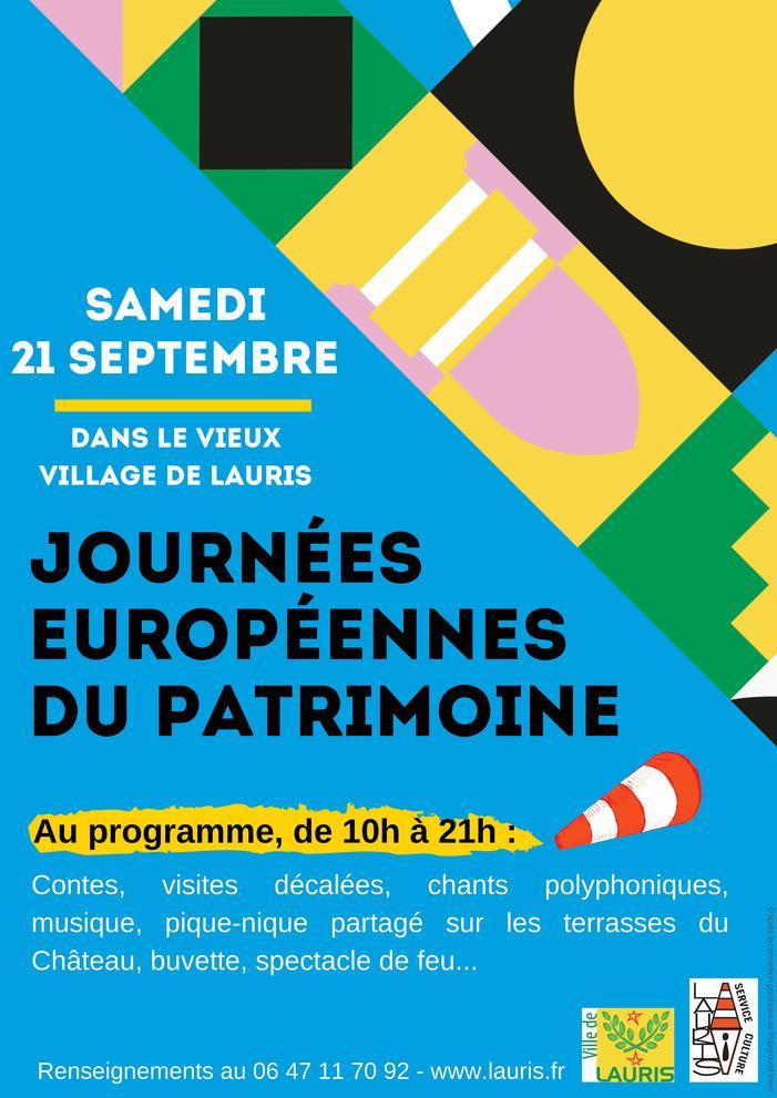 Journées du patrimoine 2019 - Visite décalée de Lauris