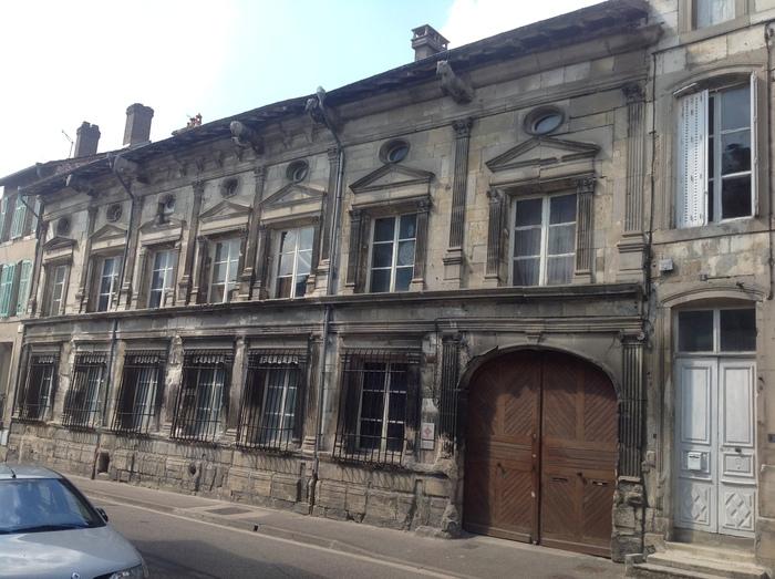 Journées du patrimoine 2019 - Visite guidée de l'Hôtel Faillonnet façade, cour, dépendances et terrasses