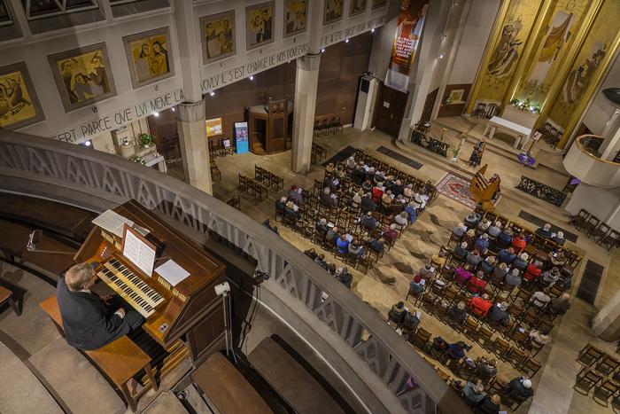 Journées du patrimoine 2019 - Visite guidée de l'église Sainte-Agnès de Maisons-Alfort - Projection