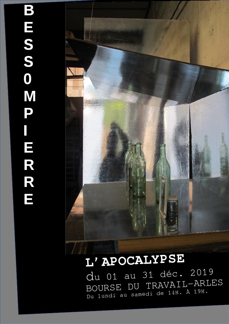 Images fantômes et illusions de la vision, avec l'apocalypse, le peintre Bessompierre poursuit sa recherche sur la représentation du réel