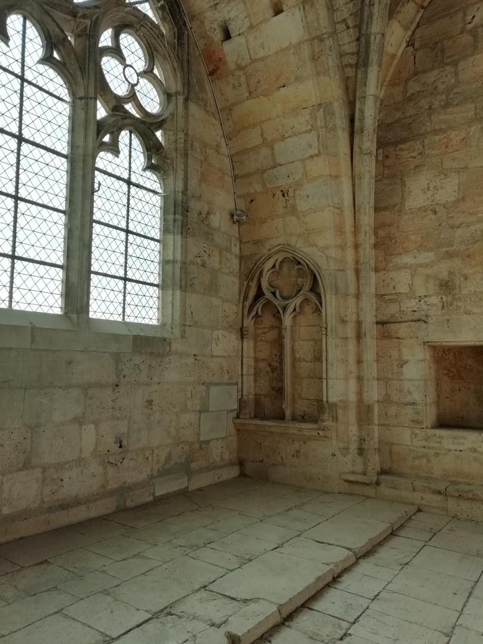 Journées du patrimoine 2020 - Cathédrale Saint-Étienne - La salle haute du pilier butant
