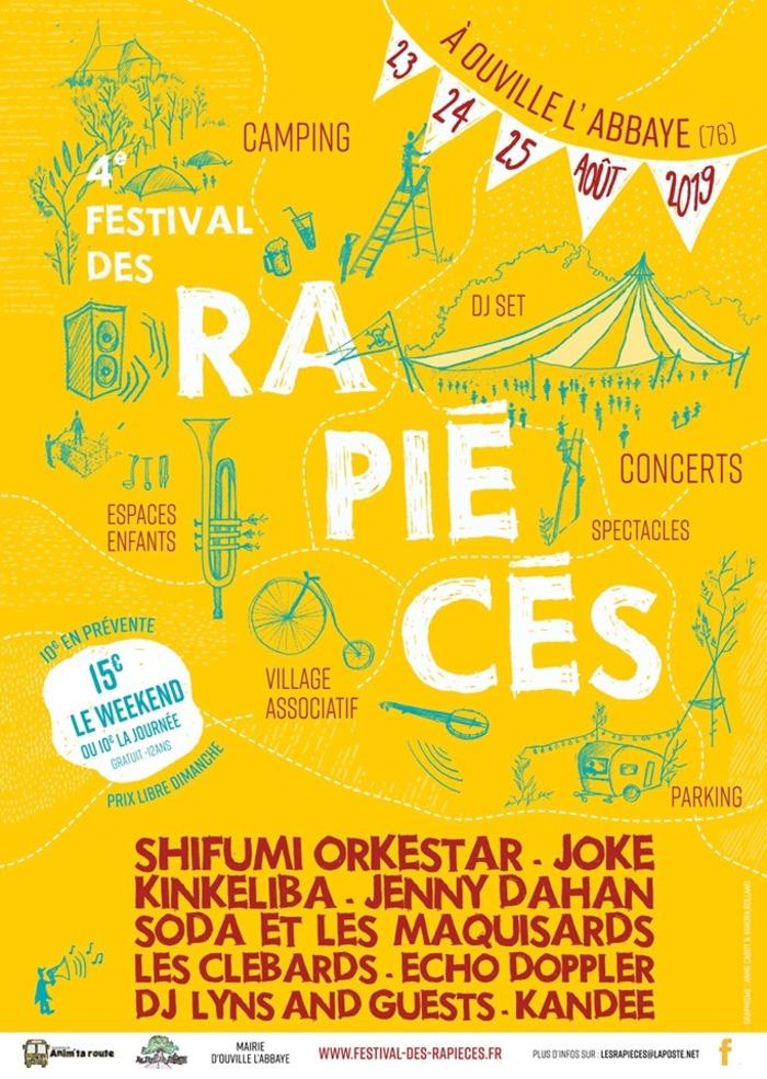 Festival des Rapiécés - 4ème édition