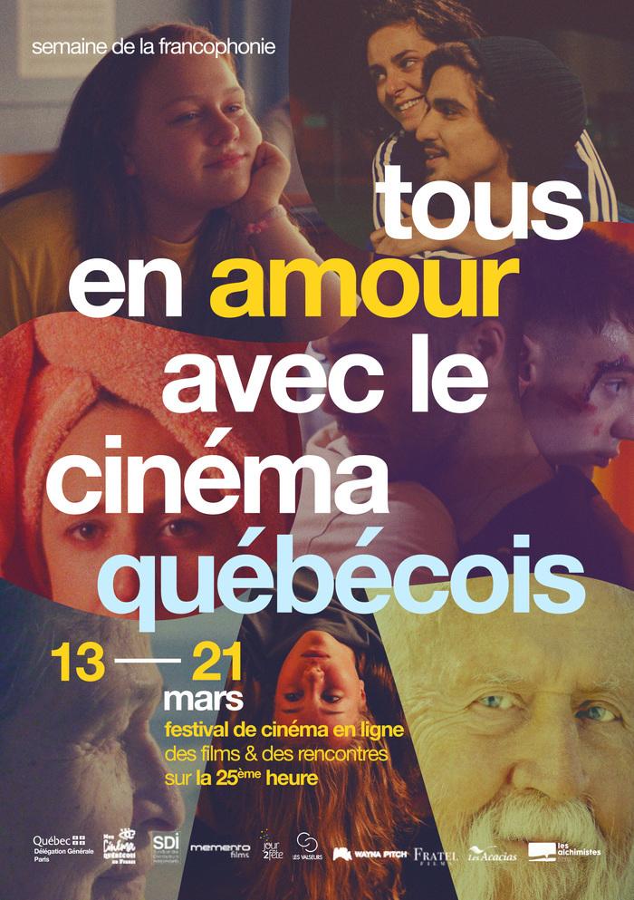 Le meilleur du cinéma québécois en ligne, présenté par ses auteurs, pour soutenir la culture, la francophonie et les salles de cinéma