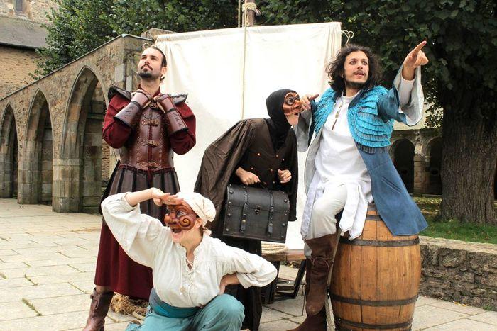 Journées du patrimoine 2020 - Théâtre au Manoir de la Fresnaye