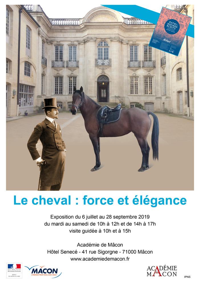 Journées du patrimoine 2019 - Le cheval : force et élégance