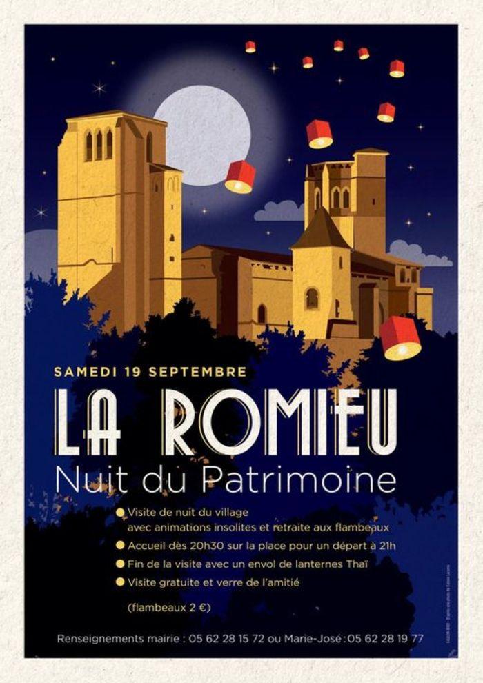 Journées du patrimoine 2020 - Nuit du Patrimoine