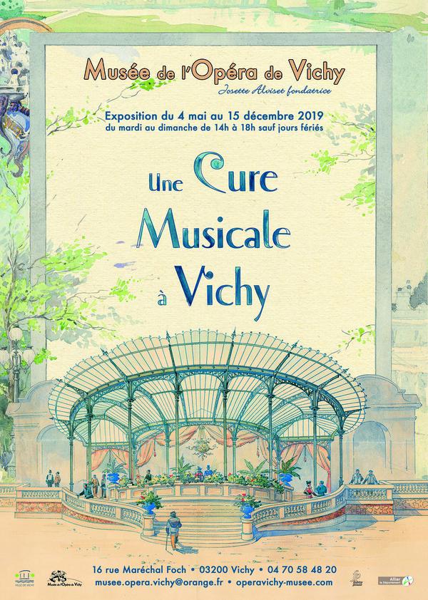 Nuit des musées 2019 -Exposition - Une cure musicale à Vichy