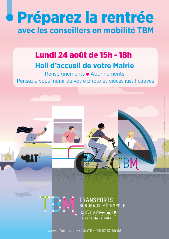Stand de rentrée Transport Bordeaux Métropole
