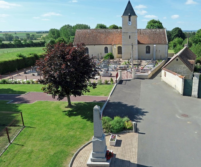 Journées du patrimoine 2020 - Visite libre de l'église et du cimetière de Goulet