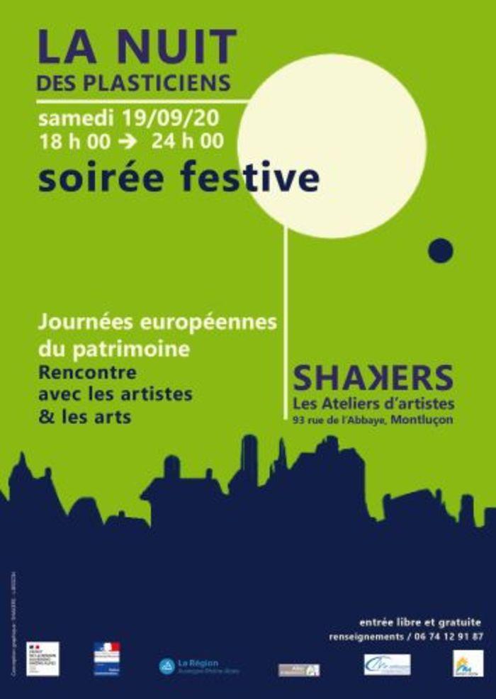 Journées du patrimoine 2020 - Résidence d'Artistes SHAKERS - Montluçon
