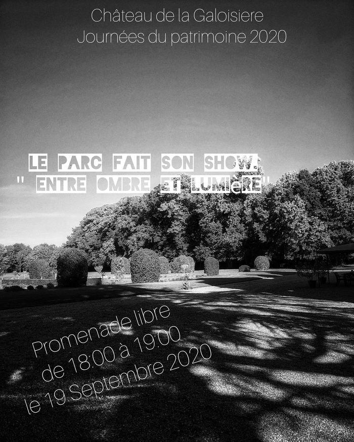 Journées du patrimoine 2020 - Le Parc fait son show