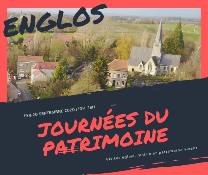 Journées du patrimoine 2020 - Découverte du village d'Englos au fil de son histoire et de son patrimoine
