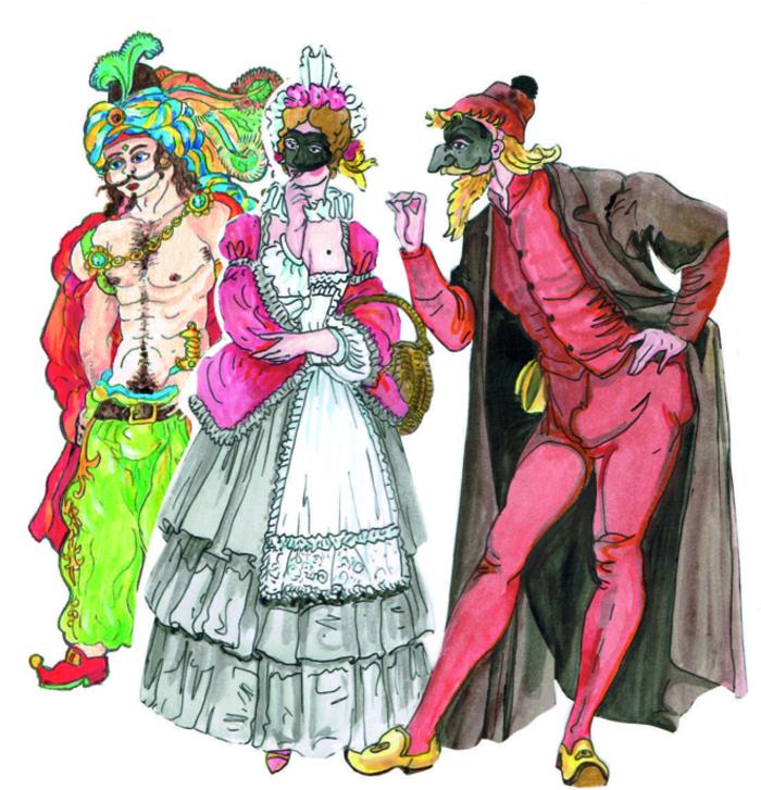 Journées du patrimoine 2019 - Le carnaval vénitien de 1689 à Joigny