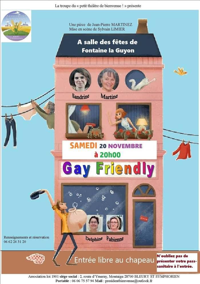 Fontaine-la-Guyon : théâtre samedi 20 novembre 20h00