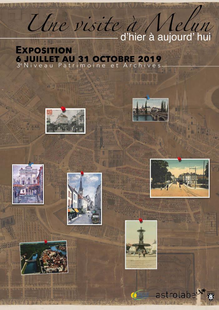 Journées du patrimoine 2019 - Une visite à Melun