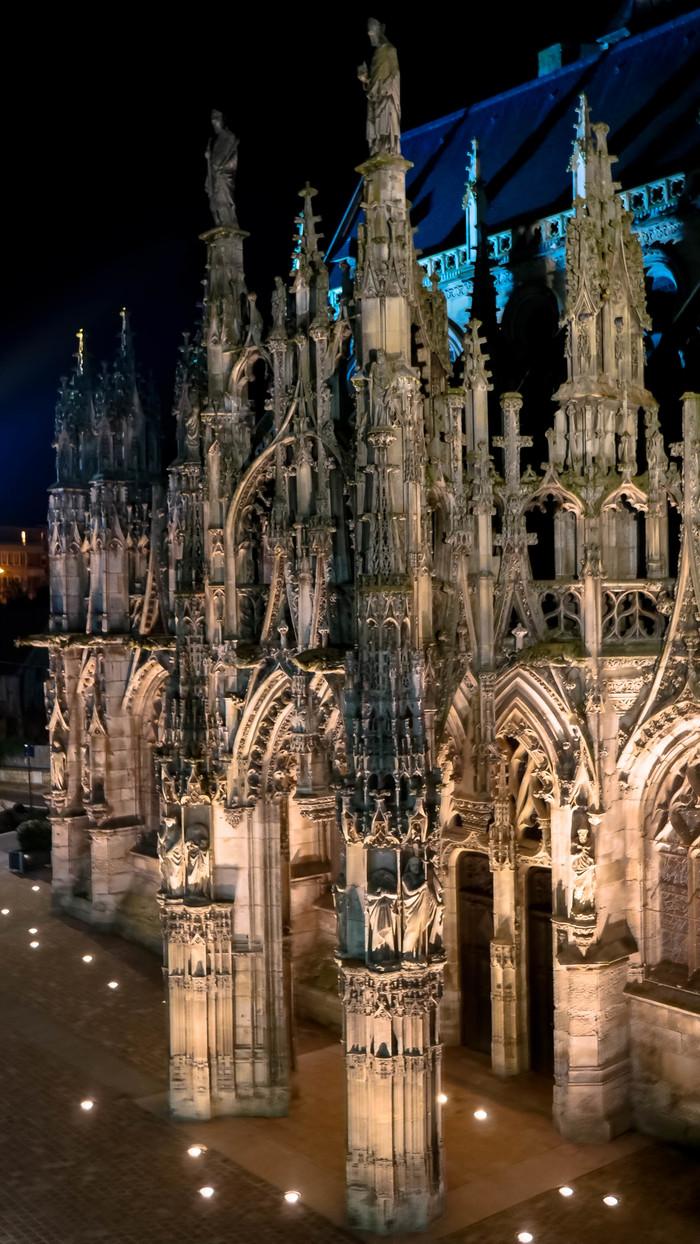 Journées du patrimoine 2019 - Projection sur l'église Notre Dame