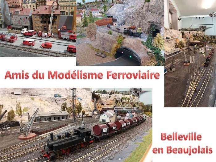 Journées du patrimoine 2019 - Expositions de maquettes de bâtiments de Belleville et de sa région