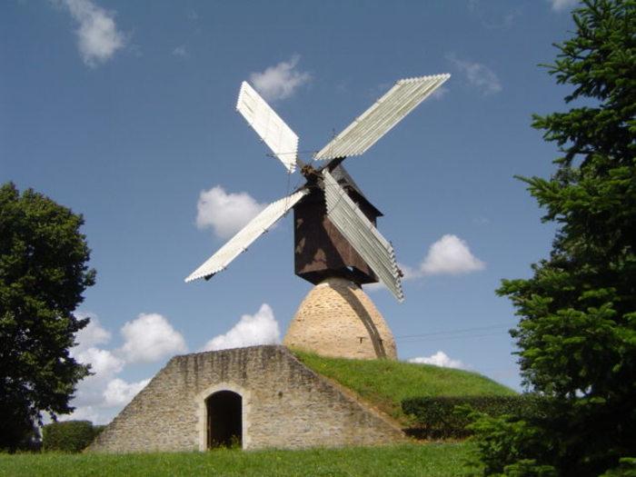 Journées du patrimoine 2020 - Visite libre du moulin cavier de la Guénaudière