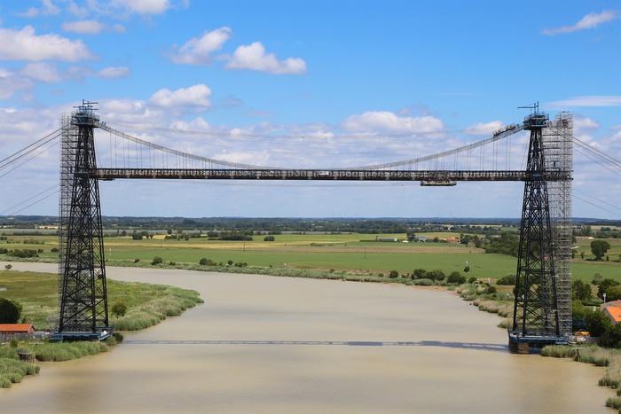Journées du patrimoine 2019 - Le chantier de restauration du pont transbordeur de Martrou vous ouvre ses portes.