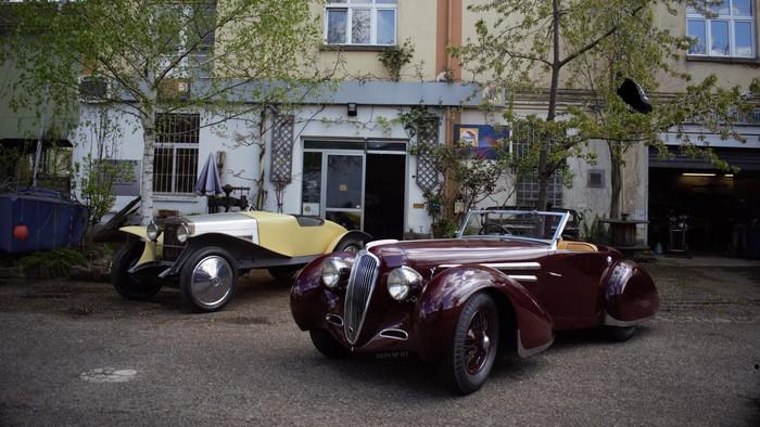 Journées du patrimoine 2020 - Visite de l'atelier de restauration de carrosserie automobile HH Services