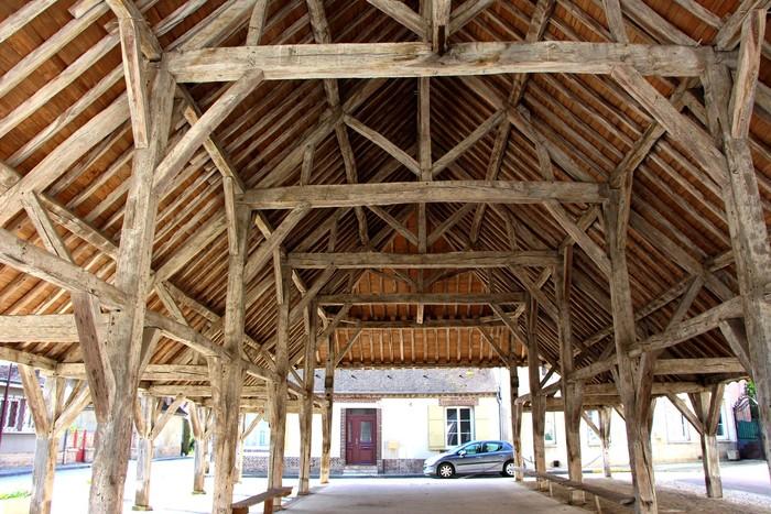 Journées du patrimoine 2020 - Visite libre de la halle d'Estissac