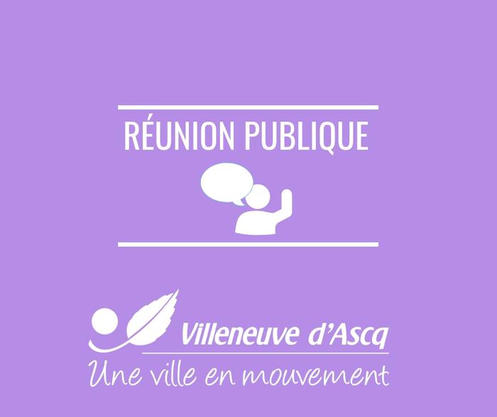 Réunion publique : rues Cèdres et Merisiers