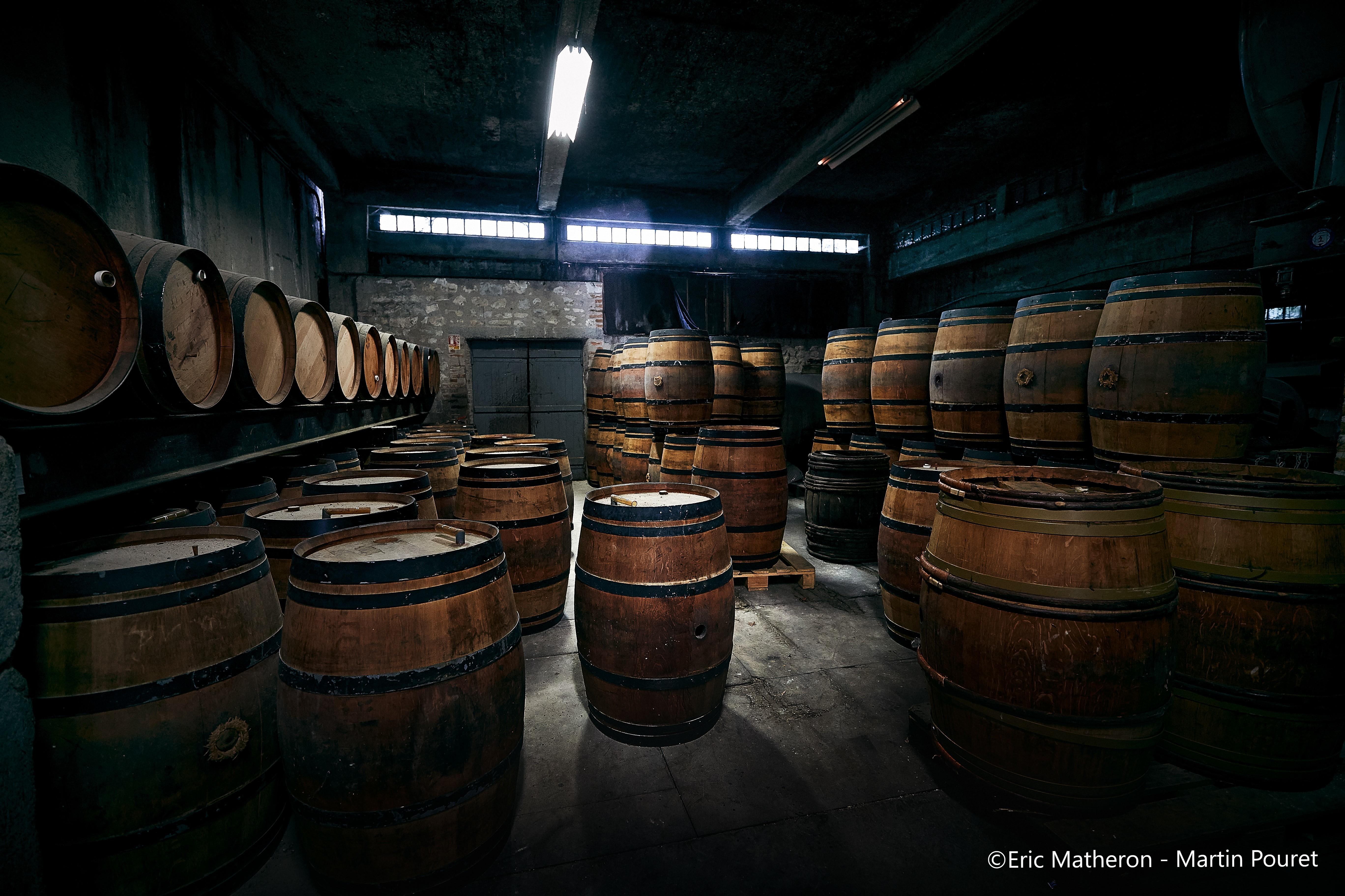 Découverte de la vinaigrerie Martin Pouret