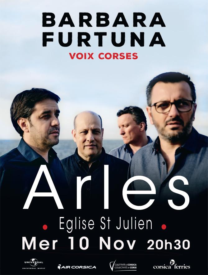 Le quatuor de voix corses en concert à Arles