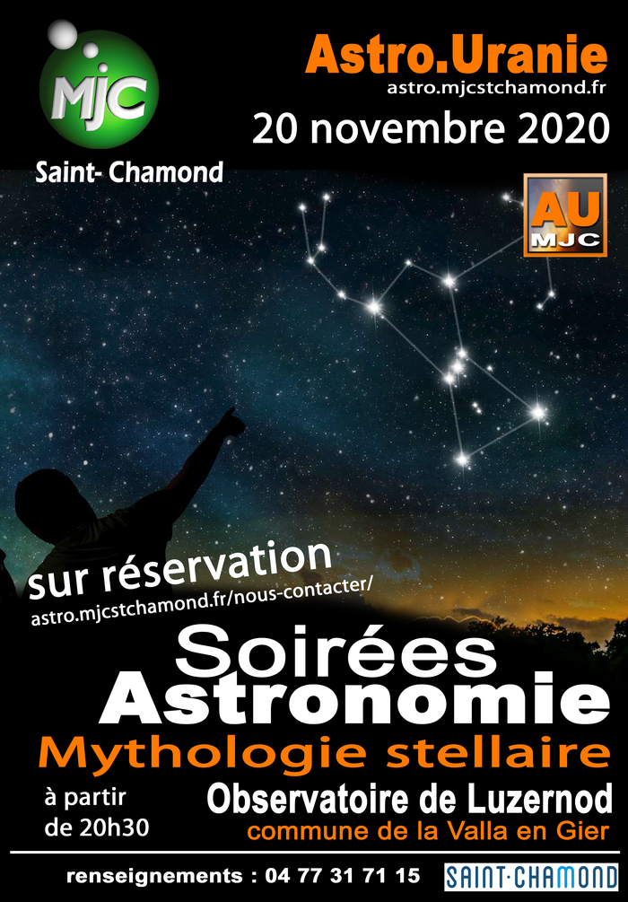Soirée astro : mythologie stellaire