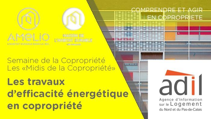 Semaine de la Copropriété : Les travaux d'efficacité énergétique en copropriété