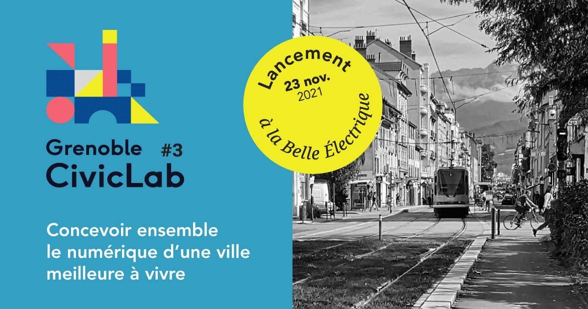 Soirée de lancement du Grenoble CivicLab #3