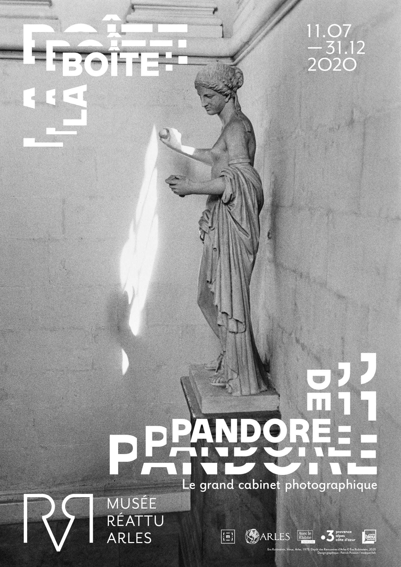 A partir du 11 juillet, un grand cabinet entièrement consacré à la photographie vient s'ajouter à l'exposition la Boîte de Pandore.