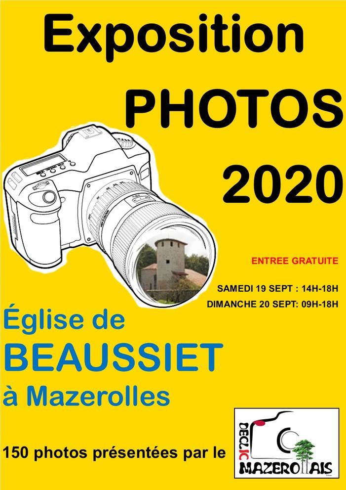 Journées du patrimoine 2020 - Exposition photos à Beaussiet