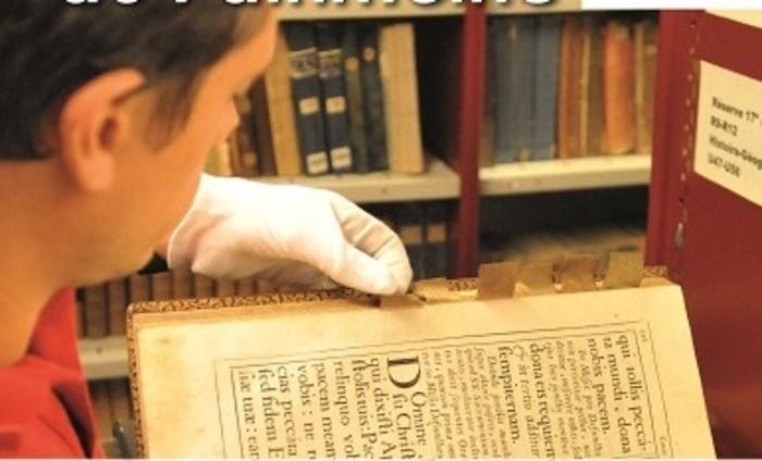 Journées du patrimoine 2019 - Visite guidée du Fonds ancien de la bibliothèque municipale