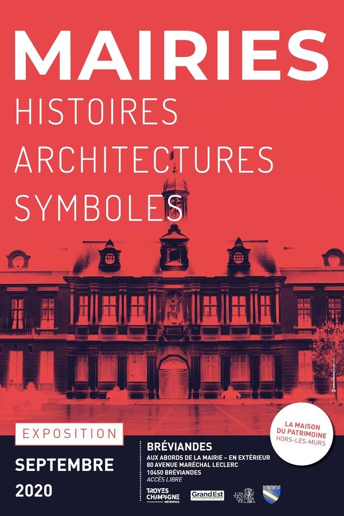 Journées du patrimoine 2020 - Exposition en extérieur – « Mairies - Histoires Architectures Symboles »