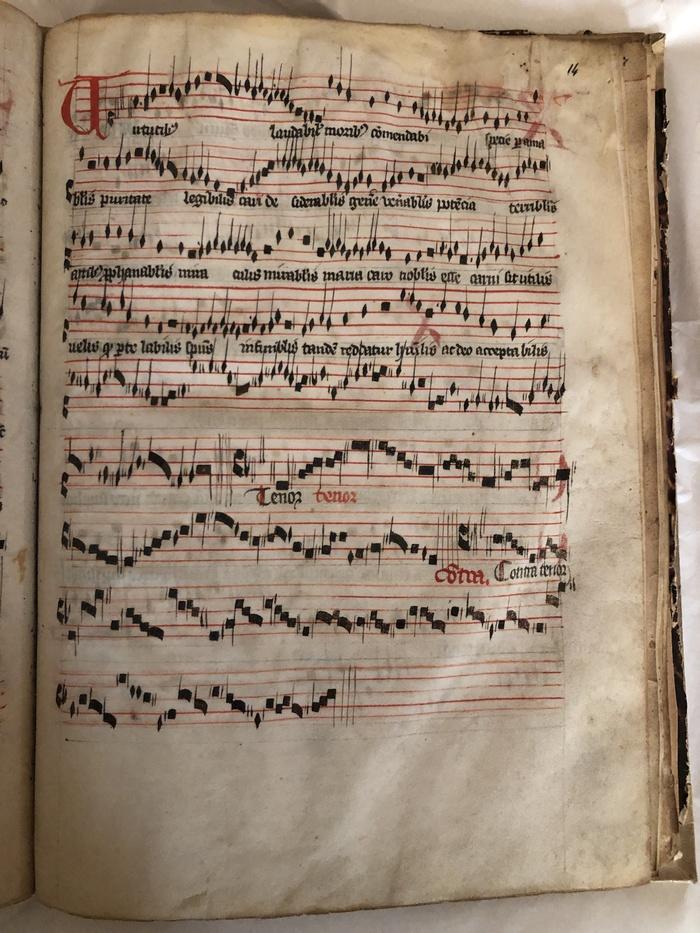 Journées du patrimoine 2020 - Les manuscrits musicaux d'Apt