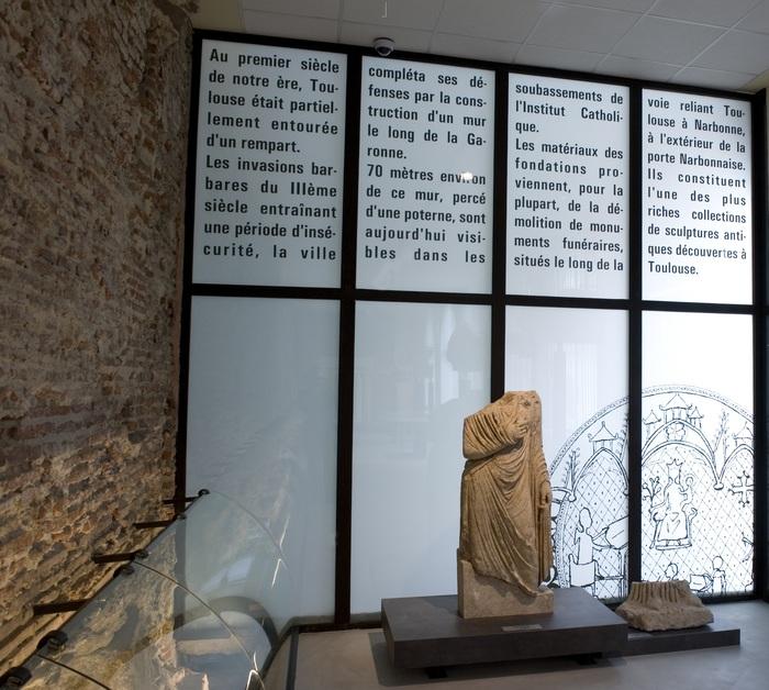 Journées du patrimoine 2019 - Visite guidée du rempart gallo-romain