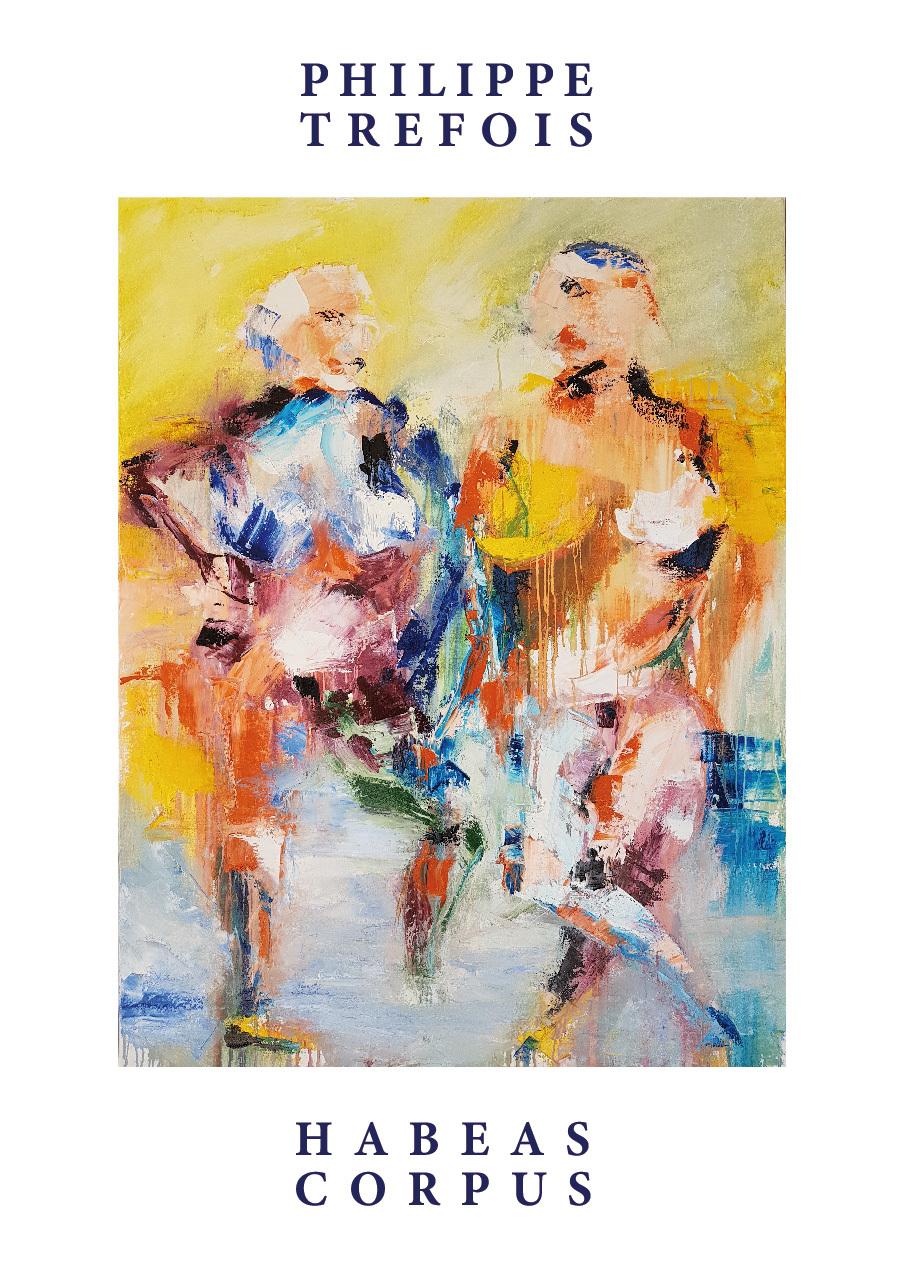 Exposition des récentes peintures de Philippe Tréfois où il explore à travers ses personnages dramatiques récurrents la lumière provençale et le foisonnement des couleurs