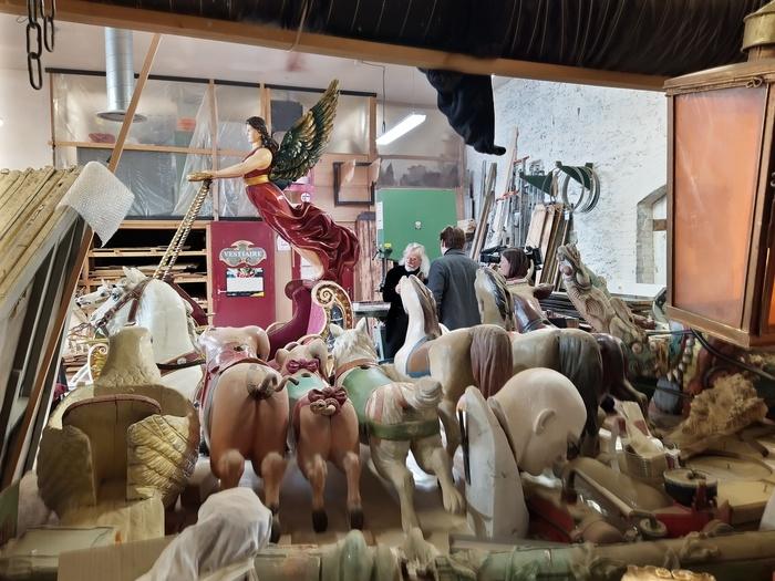 Journées du patrimoine 2020 - Visite privilégiée des coulisses des Pavillons de Bercy - Musée des Arts Forains