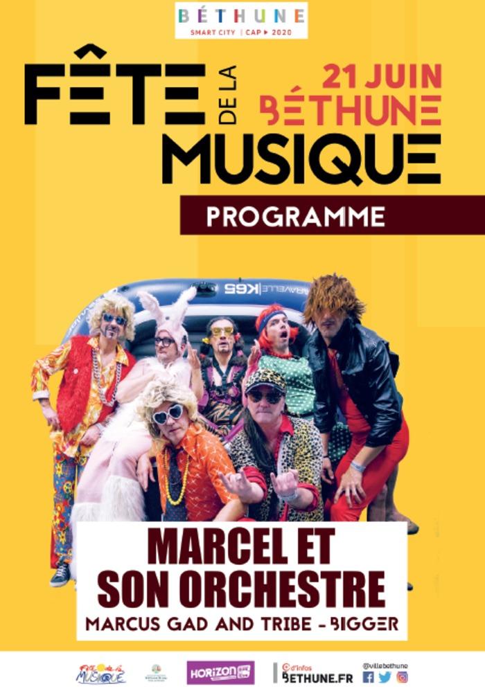Fête de la musique 2019 - Marcel et son orchestre + Bigger + Marcus gad and tribe