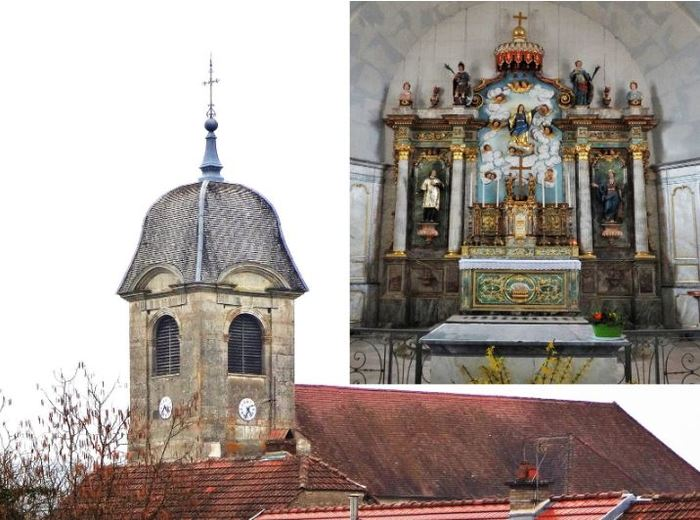 Journées du patrimoine 2020 - Découverte de l'église de l'Assomption à Fouvent-Saint-Andoche