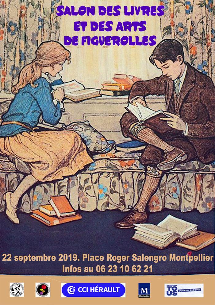 Journées du patrimoine 2019 - Salon des livres et des arts de Figuerolles
