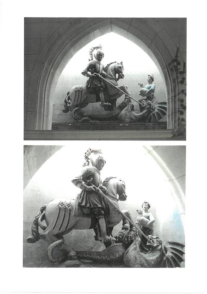 Journées du patrimoine 2019 - Visite commentée des 8 oeuvres inscrites au titre des monuments historiques de l'église Saint Georges