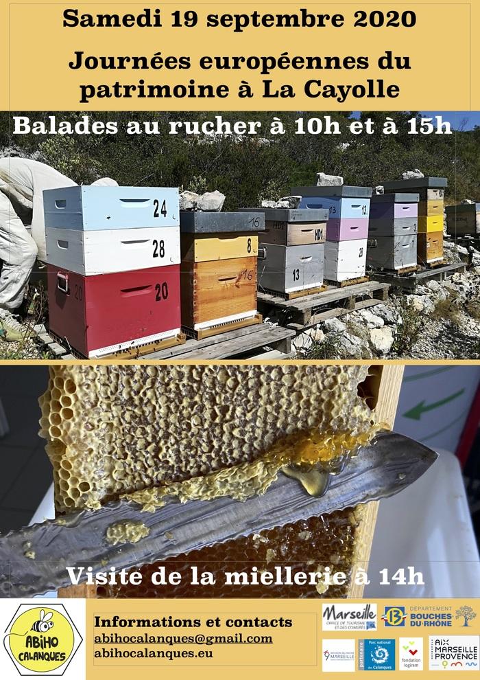 Journées du patrimoine 2020 - Annulé   Sensibilisation au  monde des abeilles avec découverte de la ruche, de la Miellerie et dégustation de miel